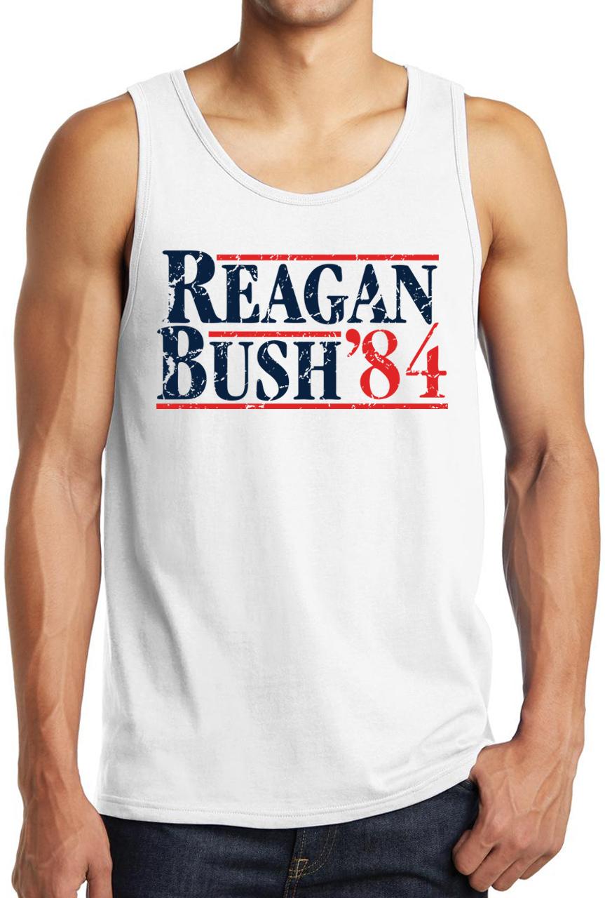 Reagan Bush 84 Tank Top Gotham Fashion Police