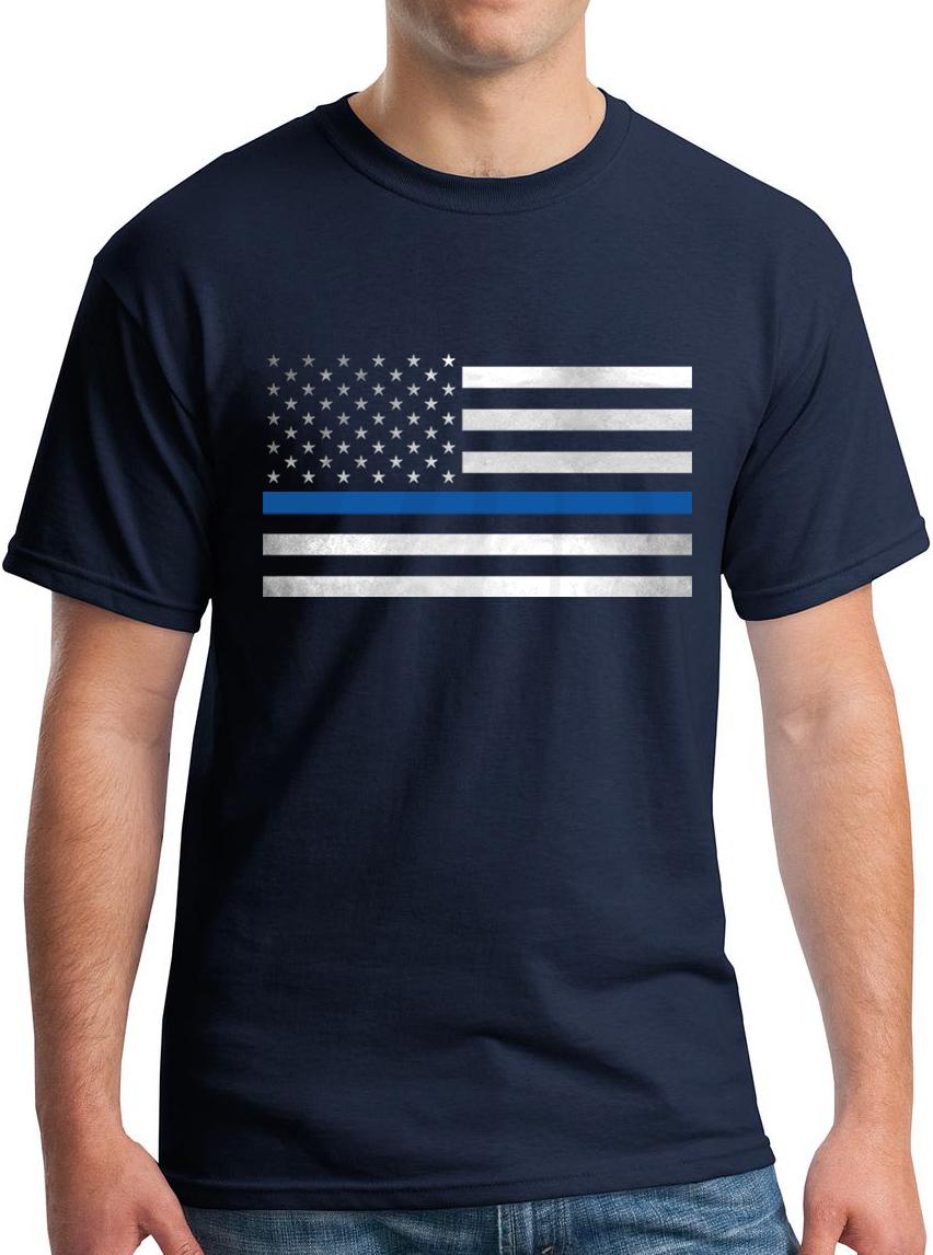 Thin Blue Line T-Shirt – Gotham Fashion Police 3d47afe4e7d